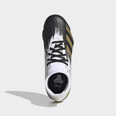 Zapatos de fútbol Predator Mutator 20.3 Pasto Sintético Blanco Niño Fútbol