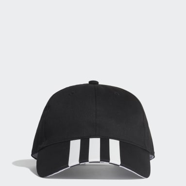 Casquette 3-Stripes Baseball Noir Fitness Et Training