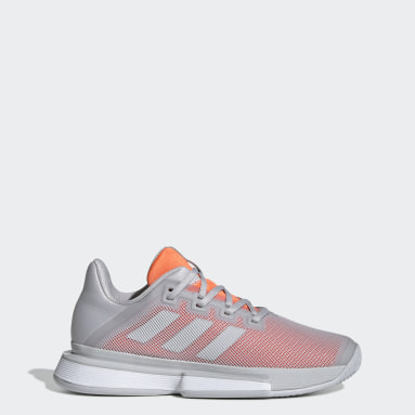 Women Tennis Grey SoleMatch Bounce Clay Shoes