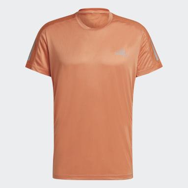 Men's Running Orange Own the Run Tee