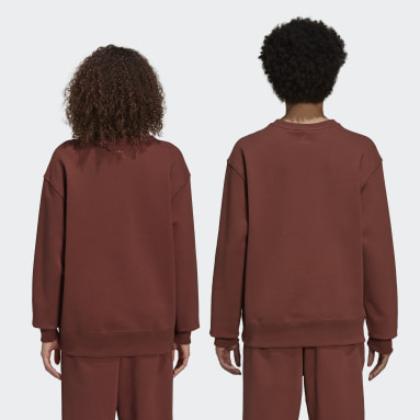 Sweat-shirt Pharrell Williams Basics Crew Marron Originals