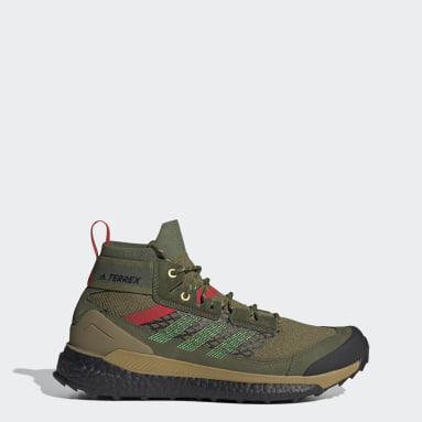 TERREX Grön Terrex Free Hiker Hiking Shoes
