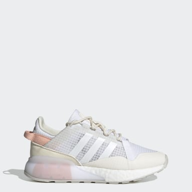 Dames Originals Wit ZX 2K Boost Pure Schoenen