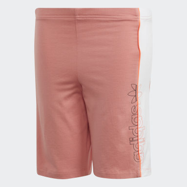Youth 8-16 Years Originals Pink Cycling Shorts