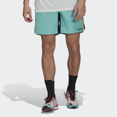 Men TERREX Green Terrex Primeblue Trail Running Shorts