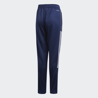 Kids Football Blue Tiro 21 Track Pants