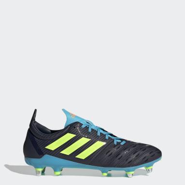 Rugby blauw Malice Soft Ground Rugbyschoenen
