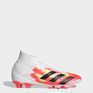 Men Football White Predator Mutator 20.1 Artificial Grass Boots