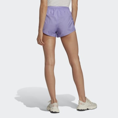 Short Adicolor Classics 3-Stripes Pourpre Femmes Originals