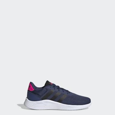 Tenis Lite Racer (UNISEX) Azul Niño Diseño Deportivo