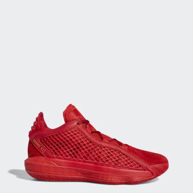 Sapatos Dame 6 Vermelho Basquetebol