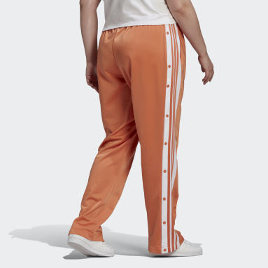 Women Originals Orange Adicolor Classics Adibreak Tracksuit Bottoms (Plus Size)