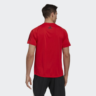 T-shirt FreeLift Rouge Hommes Cricket