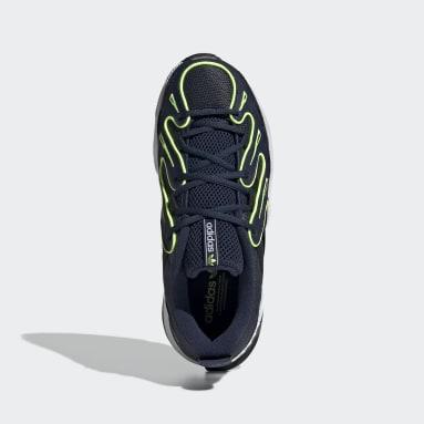 Dames Originals blauw EQT Gazelle Schoenen