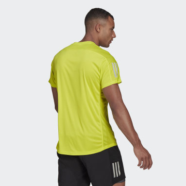 Polera para correr Own the Run Amarillo Hombre Running