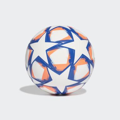 Pallone UCL Finale 20 Junior League 350 Bianco Bambini Calcio