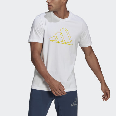Men Sportswear White adidas Sportswear Graphic Tee