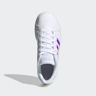 Chaussure Grand Court Blanc Enfants Lifestyle