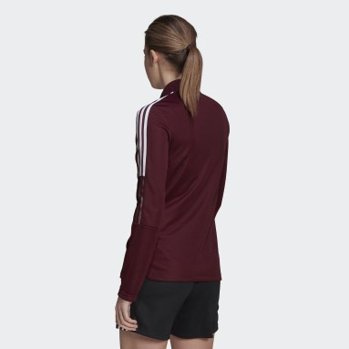 Women Football Red Tiro 21 Track Top