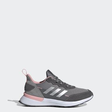Kids Training Grey RapidaRun Elite Shoes