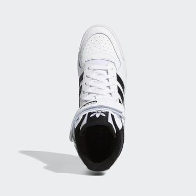 Sapatos Forum Mid Branco Homem Originals