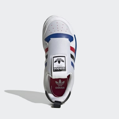 Zapatillas Rivalry Low 360 (UNISEX) Blanco Niño Originals
