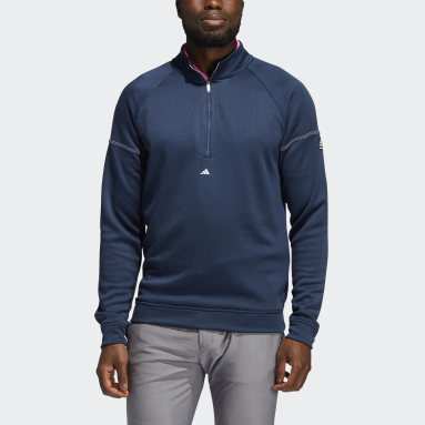 Sweat-shirt Equipment Quarter-Zip Bleu Hommes Golf