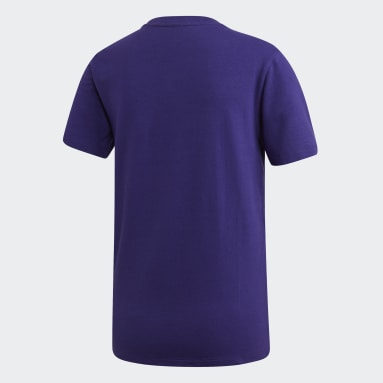 T-shirt Trefoil Violet Femmes Originals