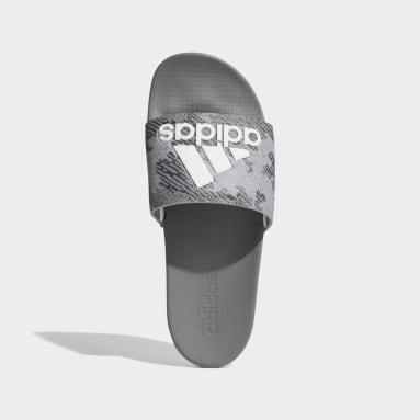 Men Training Grey Adilette Comfort Slides