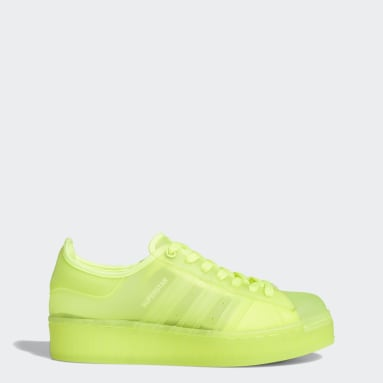 Women's Originals Yellow Superstar Jelly Shoes