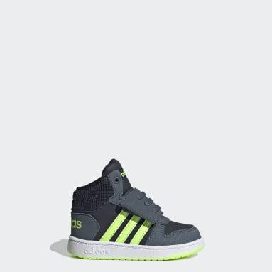 Kids Basketball Blue Hoops 2.0 Mid Shoes