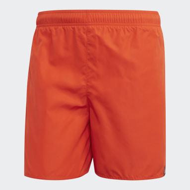 Short da nuoto Solid Arancione Uomo Sport Acquatici