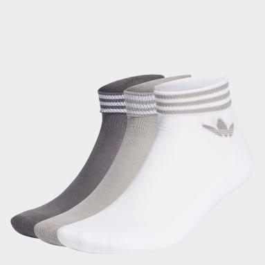 Calzini Trefoil (3 paia) Bianco Originals