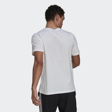Heren Sportswear Wit Essentials Embroidered Linear Logo T-shirt