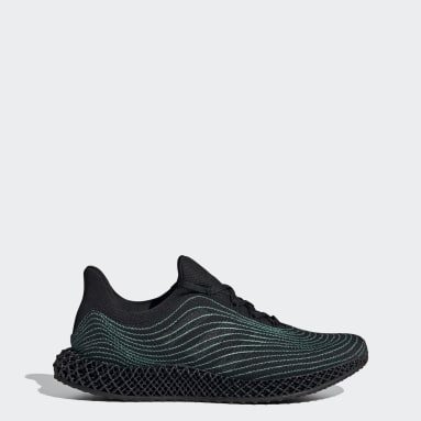 Men Running Black adidas 4D Parley Shoes