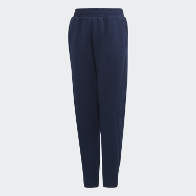 Jungen Sportswear ID VRCT Hose Blau