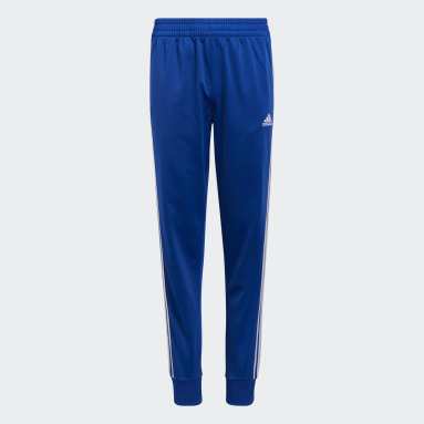 Youth Training Blue Tricot Joggers