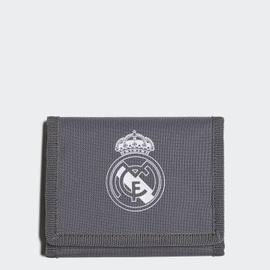 Billetera Real Madrid (UNISEX) Gris Fútbol