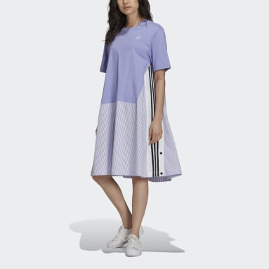 Women Originals Purple Shirt Dress