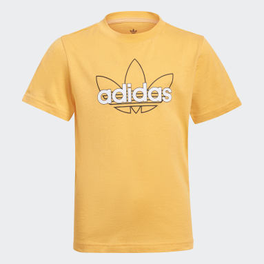 Děti Originals oranžová Tričko adidas SPRT Collection Graphic