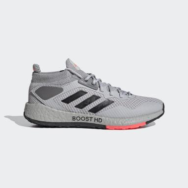 Women Running Grey Pulseboost HD Shoes