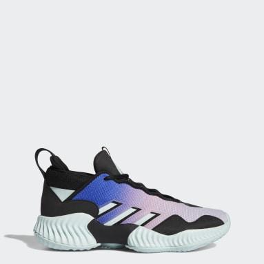 Basketbal Zwart Court Vision 3 Schoenen
