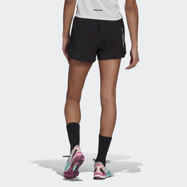 Women TERREX Black Terrex Parley Agravic All-Around Shorts