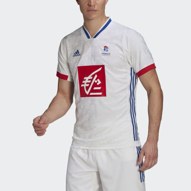 France Handball Replica Trøye Hvit