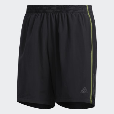 Männer Running Own the Run Shorts Schwarz