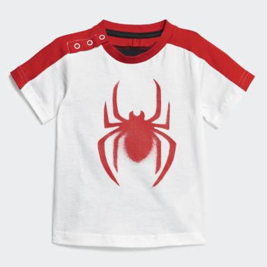 Bebek Training Beyaz Marvel Spider-Man Yazlık Takım