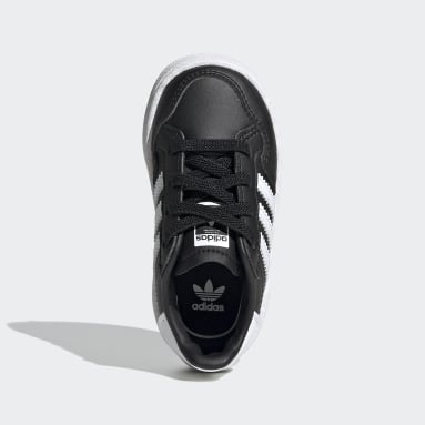 Toddlers 1-4 Years Originals Black Team Court Shoes