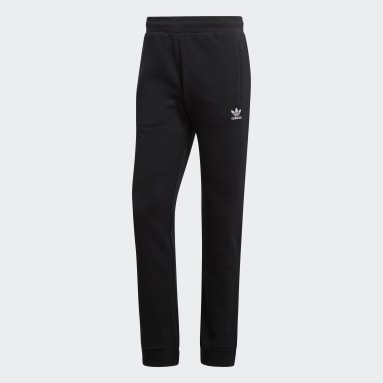 Heren Originals Zwart LOUNGEWEAR Trefoil Essentials Broek