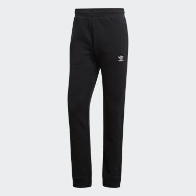 Mænd Originals Sort LOUNGEWEAR Trefoil Essentials bukser