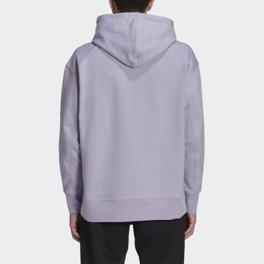 Men Y-3 Purple Y-3 Classic Chest Logo Hoodie